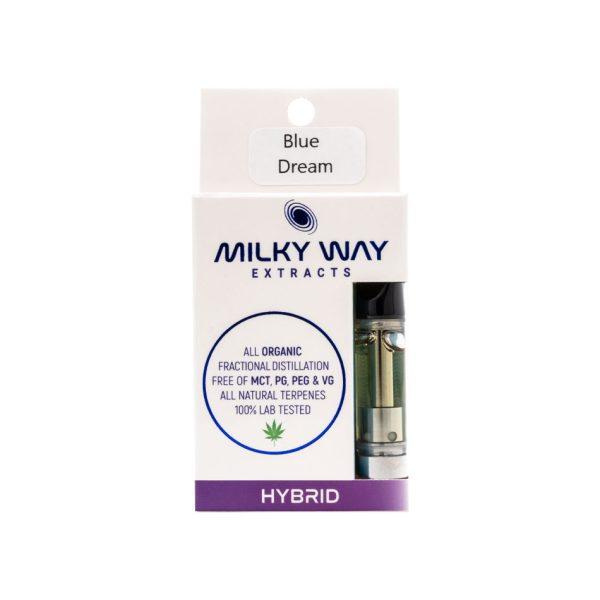 Buy Milky Way Extracts - Vape Cartridge - Blue Dream - Hybrid EZ Weed Online