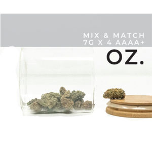 Buy Mix and Match AAAA 7g x 4 EZ Weed Online
