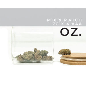 Buy Mix and Match 7g x 4 AAA EZ Weed Online