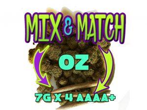 Mix and Match AAAA+Oz (7gx4)