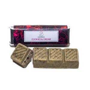 Buy Shroomies - Cookies and Cream Chocolate Bar - 3000MG EZ Weed Online