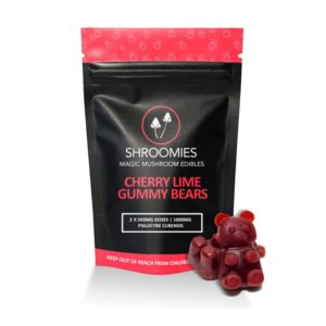 Buy Shroomies - Cherry Lime Gummy Bears - 1000MG EZ Weed Online