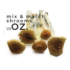 Buy Mix and Match Shrooms half oz EZ Weed Online