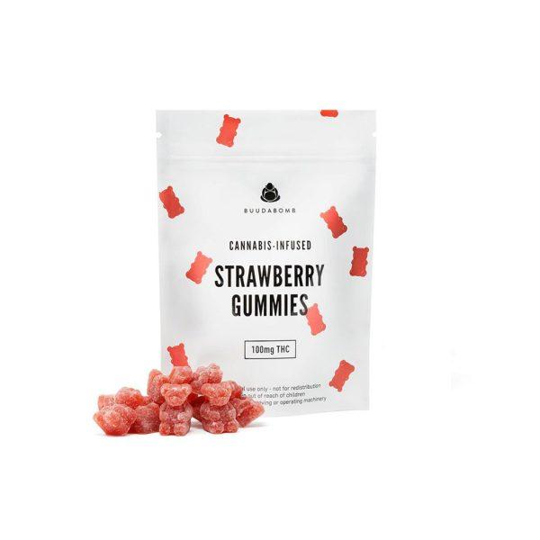 Buy Buudabomb Strawberry Gummies EZ Weed Online