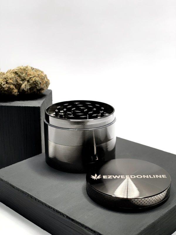 Buy EZWeed Grinder - Gunmetal EZ Weed Online