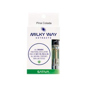 Buy Milky Way Extracts - Vape Cartridge - Pina Colada - Sativa EZ Weed Online