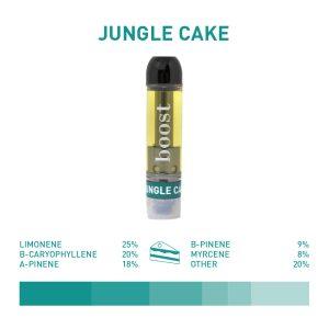 Buy Boost Jungle Cake Hybrid THC Vape Cartridge EZ Weed Online
