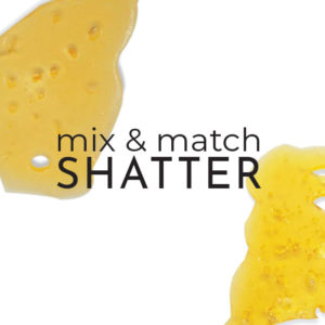 Buy EZ Weed Shatter - Mix and Match 5g - 1g x 5 EZ Weed Online