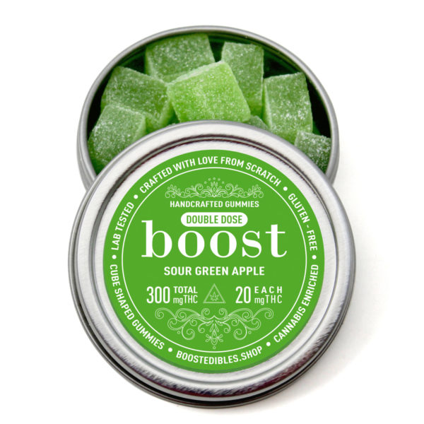 Buy Boost - THC Sour Green Apple - 300MG EZ Weed Online