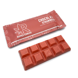 Buy Ripped Edibles - Chocolate - Strawberry - 400MG THC EZ Weed Online