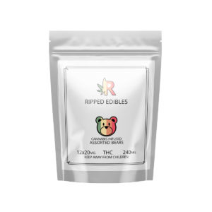 Buy Ripped Edibles - Assorted Bears - 240MG THC EZ Weed Online