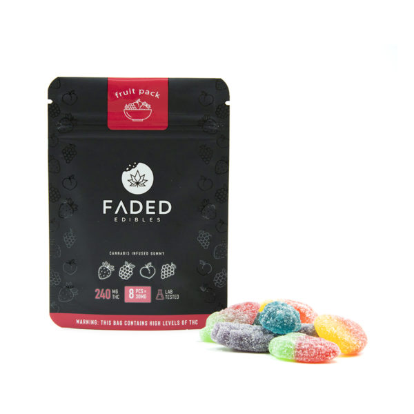 Buy Faded - Fruit Pack - 240MG EZ Weed Online
