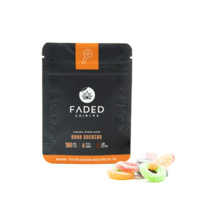 Buy Faded - Sour Suckers - 180MG EZ Weed Online