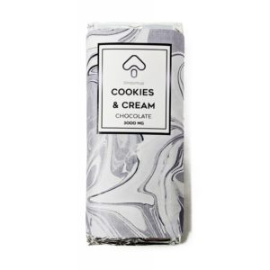 Buy ShroomUP Cookies and Cream Chocolate Bar 3000MG EZ Weed Online