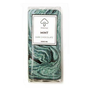 Buy ShroomUP Mint Dark Chocolate Bar 3000MG EZ Weed Online