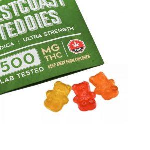 mary's medibles westcoast teddies indica-500mg