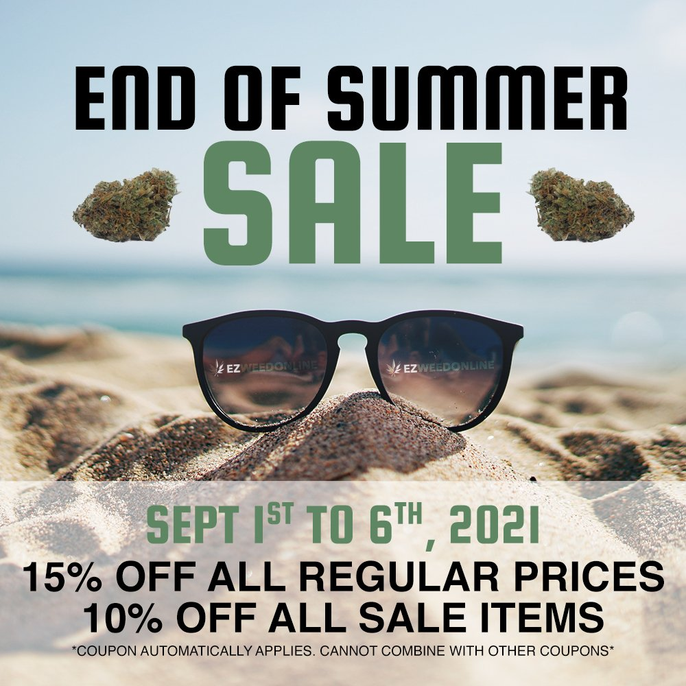 end of summer sale cannabis