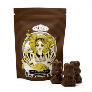 Buy Alice Mushroom Milk Chocolate EZ Weed Online