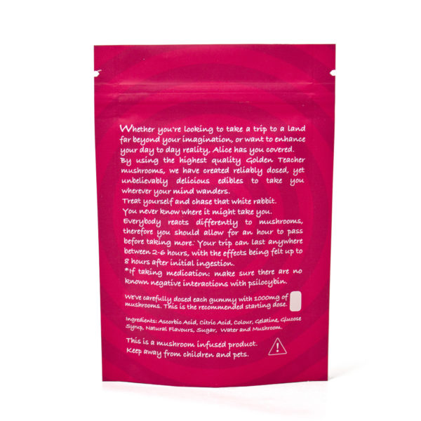 Buy Alice Cherry Mushroom Gummy Back Packing EZ Weed Online